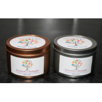 Black Opium Fragrance Soy Container Candle